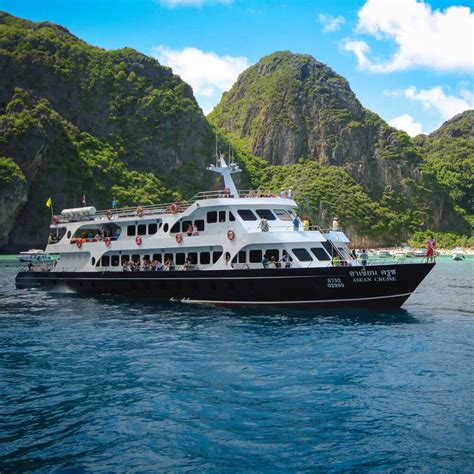 boat tour from phi phi island phi phi islands sightseeing tour by big boat ferry
