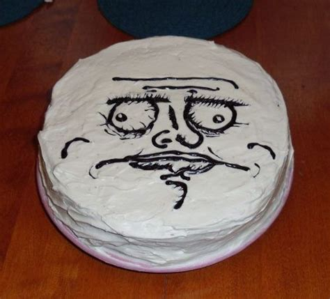 birthday cake meme meme and rage comics cakes and cupcakes cakes