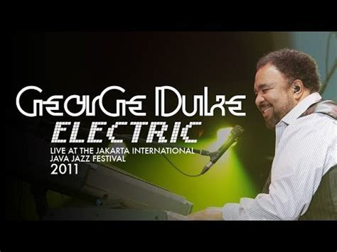 Javajazz Sweet Brown george duke electric quot sweet baby quot live at java jazz
