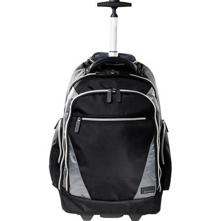 eco style sports voyage rolling backpack for up to 17.3