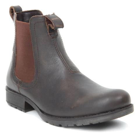 mens wedge boots mens slip on toe chelsea boots wedge heel genuine