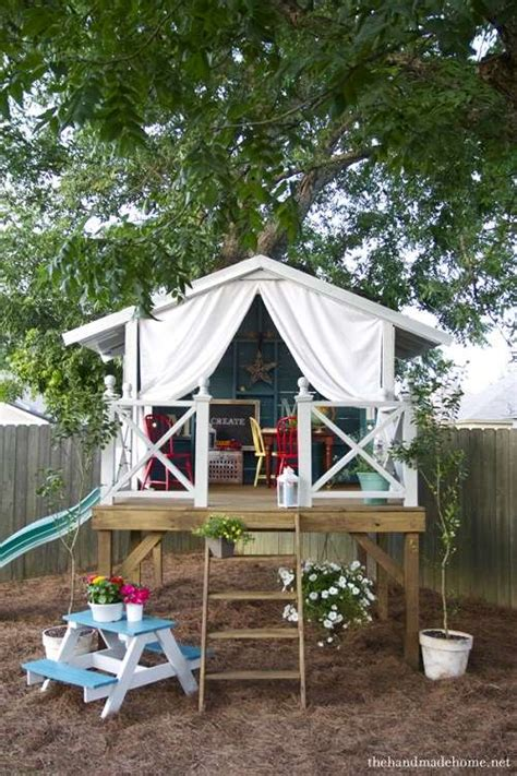 Simple Comfortable With Touches House Simple Tree House Ideas That Can Be Easy For You To Create