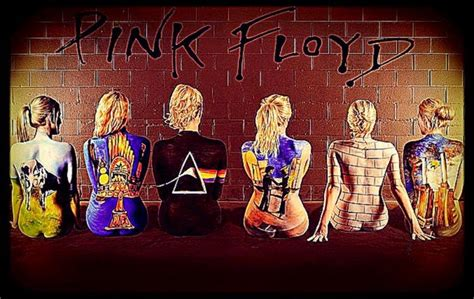 pink floyd body paint body painting pictures