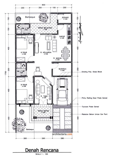 denah layout rumah beberapa langkah dalam membangun rumah impian anda 2