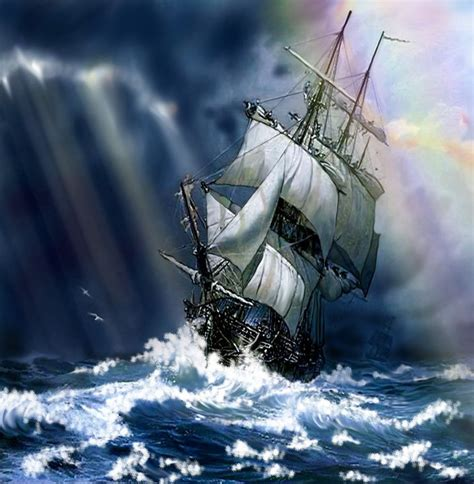 schip in storm ship in storm ships sailing and the occasional pirate