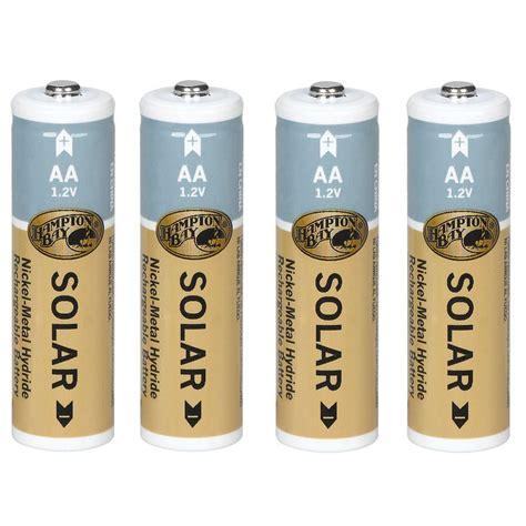 best batteries for solar lights hton bay nickel hydride 1200 mah solar