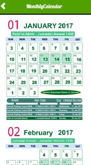 Calendar 2018 And Arabic Islamic Calendar Date Today Calendar Template 2017