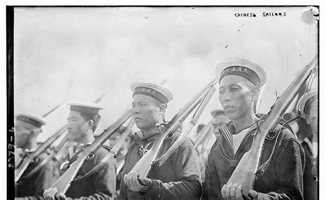 Qing Navy china defense hai chi of the imperial qing navy