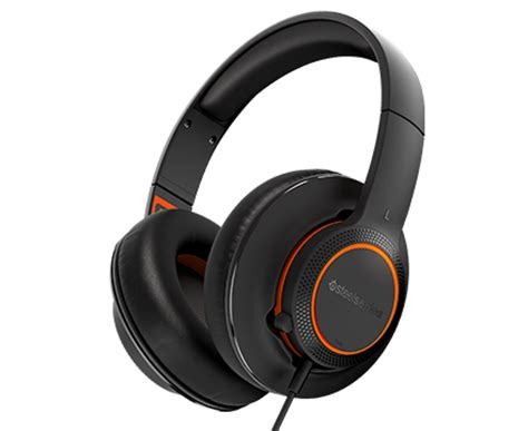 Headset Siberia Invictus Gaming siberia 100 lightweight gaming headset with 3 5mm cable steelseries