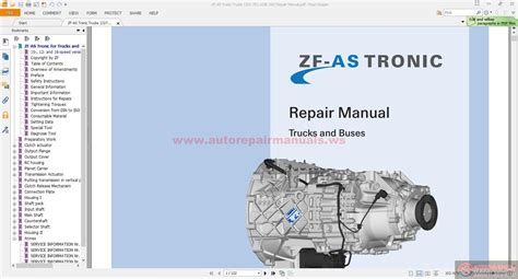 Auto Service Repair Manual Free Download