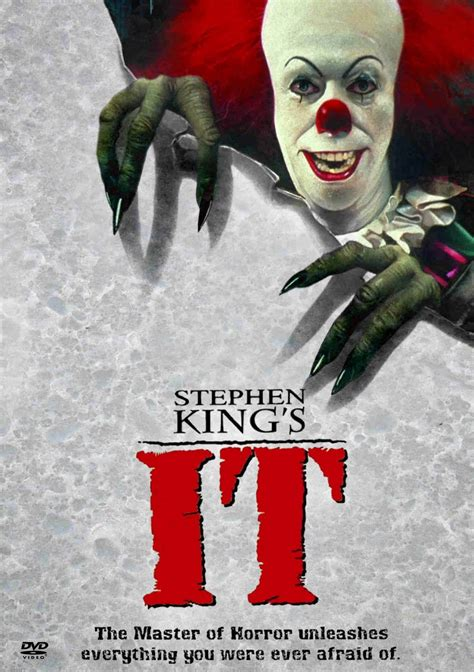 film it stephen king stephen king it poster 1990