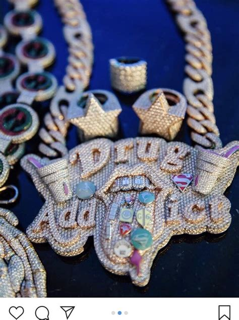 lil pump necklace the jewelry of lil pump trashy