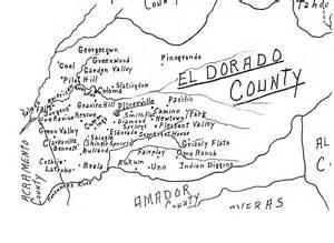 el dorado county map california library rescue historical society