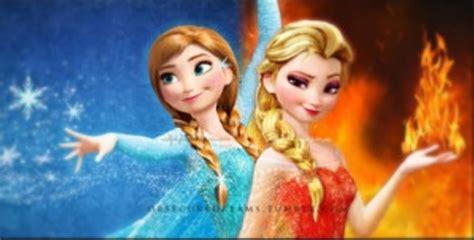 film elsa et anna frozen anna and elsa with different powers disney frozen