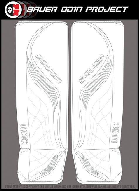 bauer goalie mask template odintemp