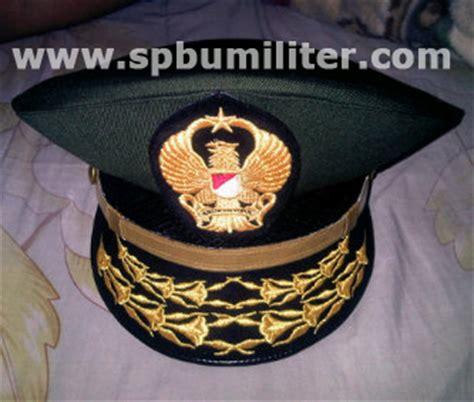 Senter Jatah Tni By Saninmilitery topi dinas jendral tni ad spbu militer