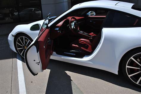 porsche matte white porsche 911 white matte color change wrap car wrap city