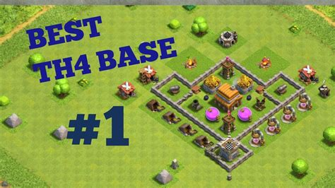 layout coc town hall level 4 best of clash clans town hall 4 base layout coc th4 its