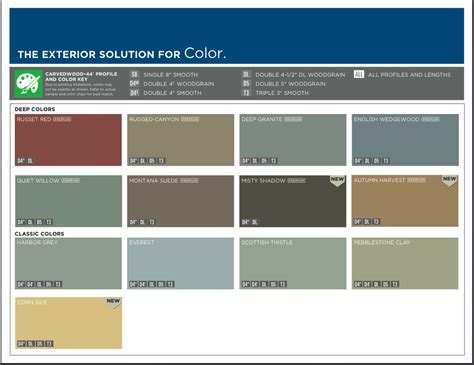 mastic siding color chart mastic ply gem siding color options we install this