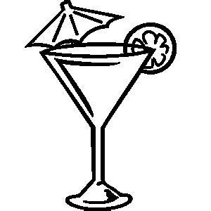 margarita clipart black and white free martini glass clip pictures clipartix