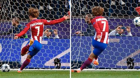 section 5 talks back football did antoine griezmann strike the ball twice marca in
