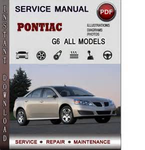 pontiac g6 service repair manual download info service