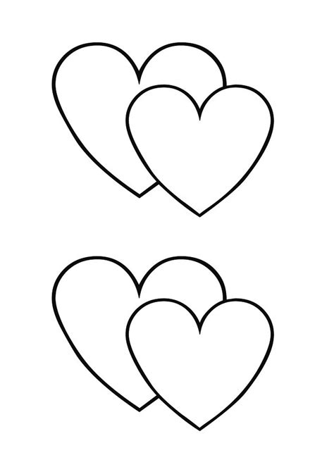 40 printable heart templates 15 usage exles