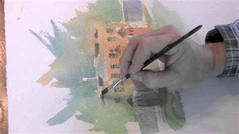 tutorial watercolor and ink pen and ink with watercolor youtube