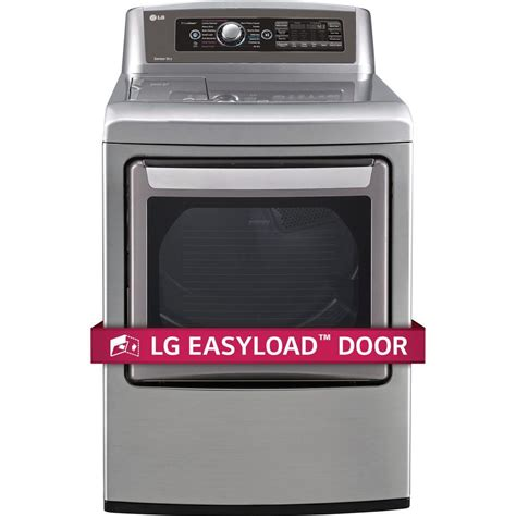 lg electronics easyload 7 3 cu ft electric dryer with