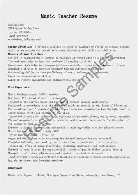 download music teacher resume sample diplomatic regatta