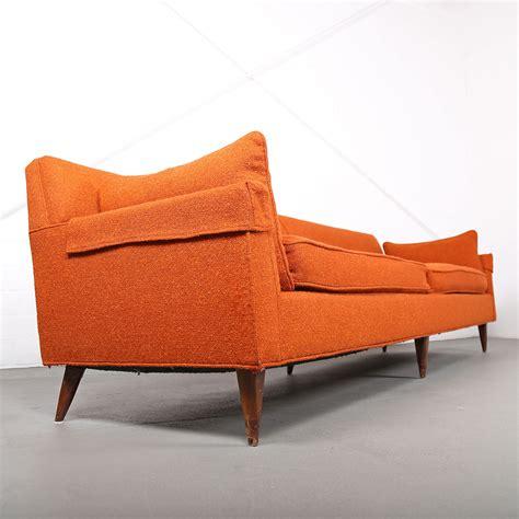 sofa 50er mid century modern vintage 3 seater sofa usa dunbar attr