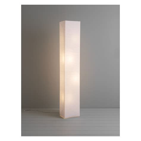 Decorative Home Ideas by Square Paper White Crinkled Paper Floor Lamp Buy Now At