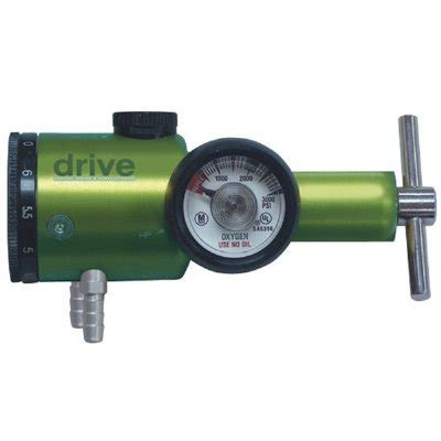 Regulator Oxygen General Care drive pneumatic oxygen conserving regulator