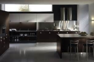 Warm Contemporary Kitchen - 10 kitchen color schemes for the modern home