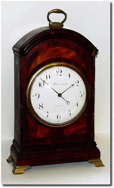 Antique Price Guide trott antique clock