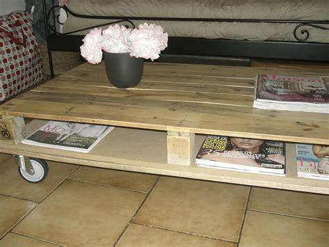 Tuto Table Basse En Palette by Tuto Fabriquer Une Table Basse En Palettes
