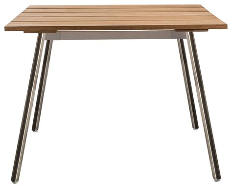 Beachy Dining Table Reef Square Dining Table Style Outdoor Dining Tables By Oasiq