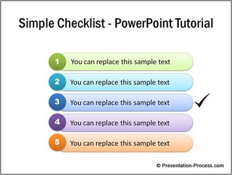 powerpoint checklist template creating simple check list in excel improve yourself daily