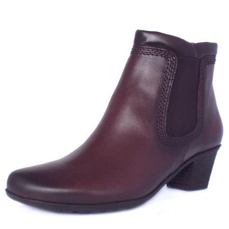wine boots gabor winter boots wine leather ankle boots sound