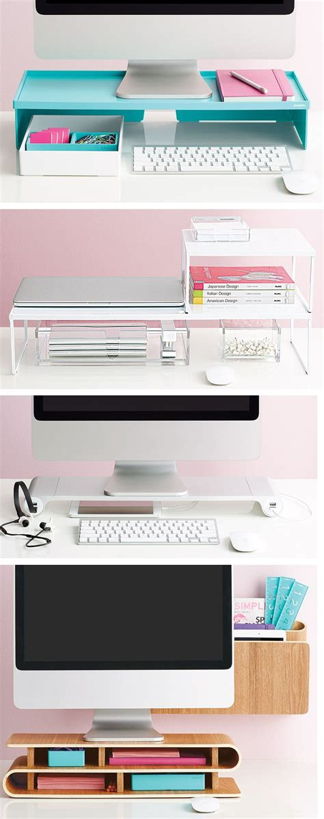 Organize Computer Desk Organize Every Desk Setup With Creative Options From The Container Store Apartment Inspo