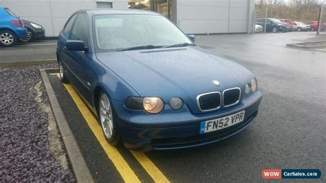 Modified Bmw Compact For Sale by 2002 Bmw 320d Se For Sale In United Kingdom