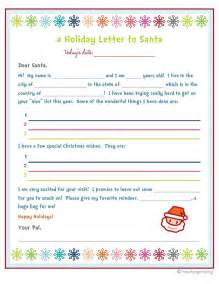 Letter to santa template printable free new calendar template site