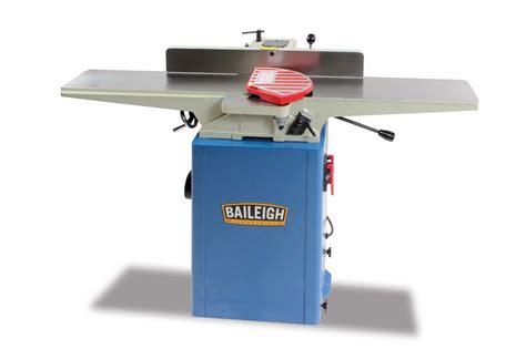 baileigh ij  wood jointer elite metal tools