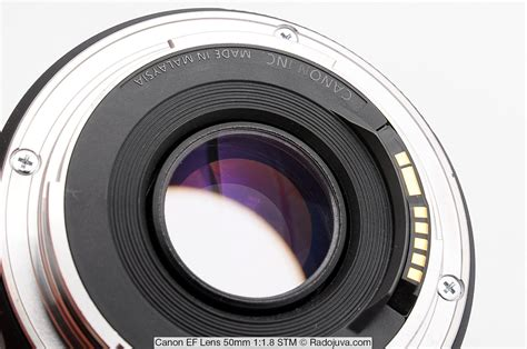 Lens Canon Ef 50mm F 1 8 Ii canon ef 50mm f 1 8 stm