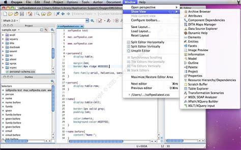 xml oxygen tutorial oxygen xml editor v19 macosx a2z p30 download full