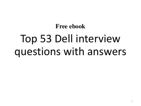 help desk questions and answers technical pdf dell inc questions and answers