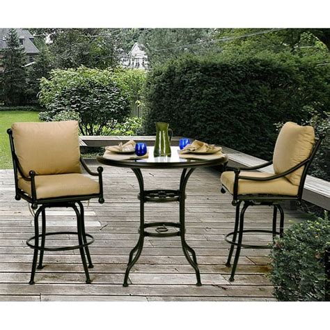 balcony height patio set best 25 bar height patio set