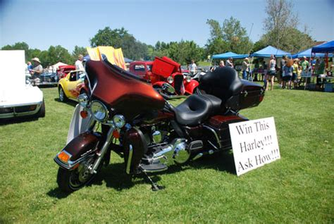 Kutv Harley Giveaway - 9th annual motorcycle ride car show
