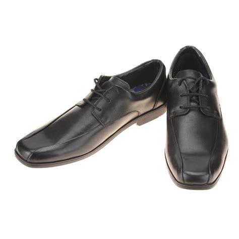 black school shoe clarks hoxton chap boys black school shoe ebay