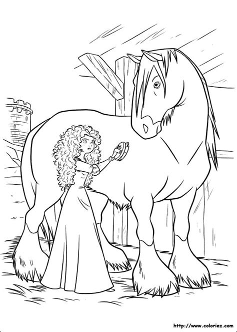 horse coloring pages pdf coloriage m 233 rida brosse angus